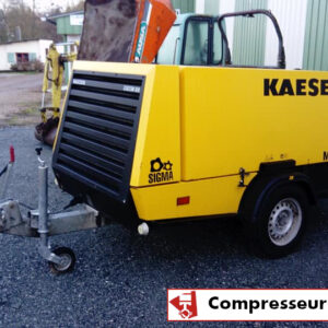 LOCATION COMPRESSEUR KAESER ; MOBILE ; 8000L