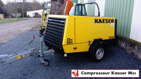 LOCATION COMPRESSEUR KAESER ; MOBILE ; 8000L