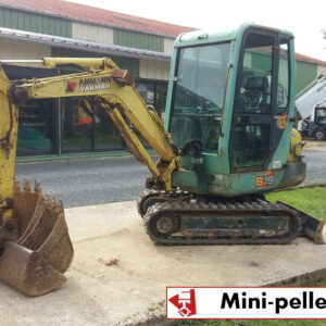 LOCATION MINI-PELLE YANMAR B19 ; 2T ; 3 GODETS