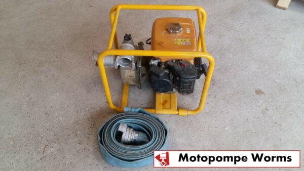 Location Motopompe à eau chargée WORMS